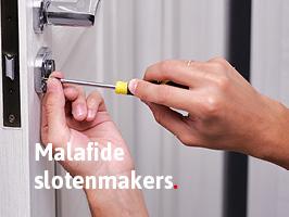 Malafide slotenmaker
