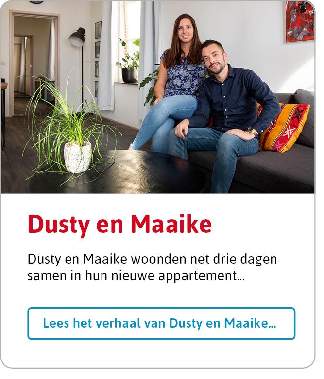 Lees het verhaal van Dusty en Maaike