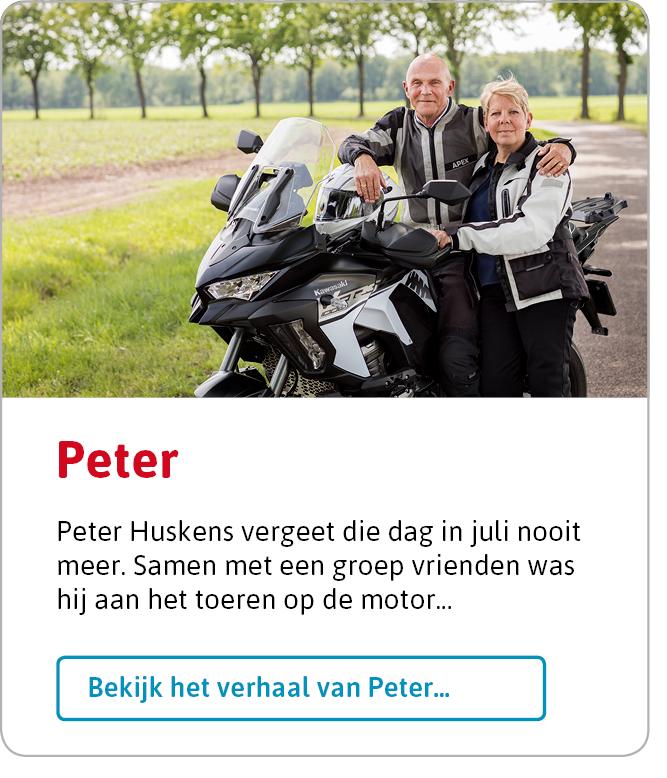 Bekijk het verhaal van Peter