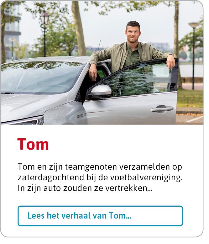 Lees het volledige verhaal van Tom