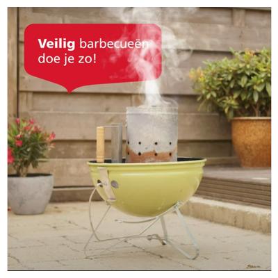 Hoe steek jij de barbecue aan? De enige manier om dit veilig te doen, is met aanmaakblokjes. Bij gebruik van brandbare vloeistoffen, zoals spiritus, bio-ethanol of (was)benzine is één vonkje al genoeg voor een steekvlam. 🔥 ZLM geeft je dé tips voor een veilige barbecue. 🥩