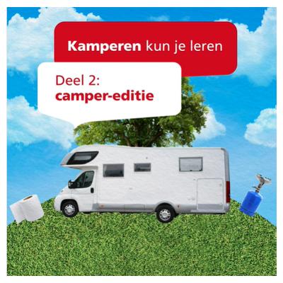 Geef jij de voorkeur aan reizen met een camper in plaats van met de caravan? Dan is de tweede editie van 'kamperen kun je leren' écht iets voor jou. ZLM'er Artwin Otte (schade-expert motorrijtuigen én fanatiek camperaar) vertelt je waar je op moet letten tijdens een campervakantie. 🚙