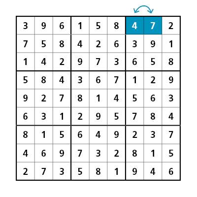 Antwoorden sudoku 1
