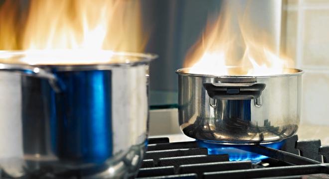 Vlam in de pan